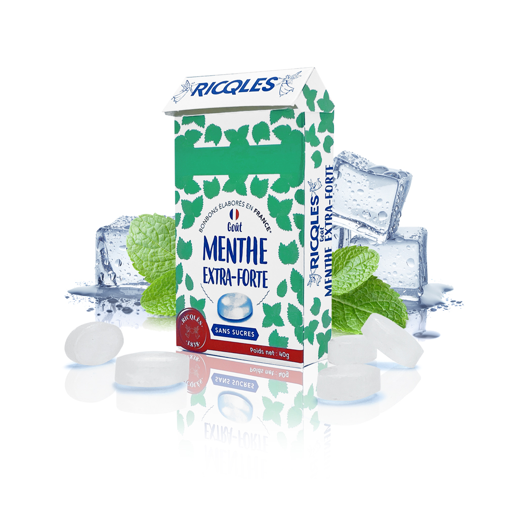 bonbons menthe extra-forte